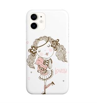 İphone 11 Cat Girl Lovely Telefon Kılıfı