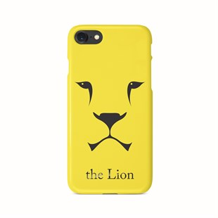 İphone 7 Lion Drawings Desenli Telefon Kılıfı