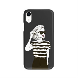 İphone Xr Fashion Girl Desen Kılıf
