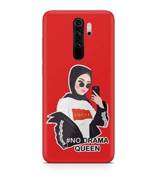 Xiaomi Redmi 9 No Drama Queen Girl Desen Kılıf