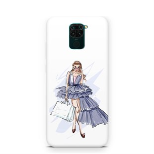Xiaomi Redmi Note 9 Fashion Girls 01 Telefon Kılıfı